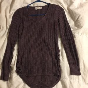 Purple pink republic thin sweater
